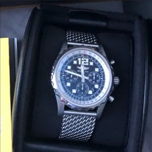 Men's Chronospace watch with box and papers